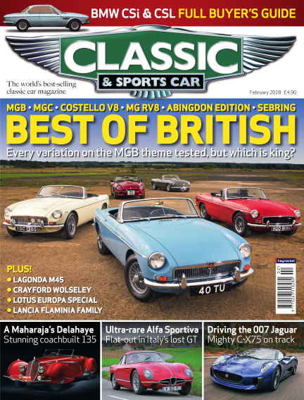 Classic & Sports Car January 04, 2018 00:00