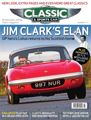 Classic & Sports Car July 2018