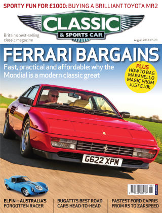 Classic & Sports Car August 2018
