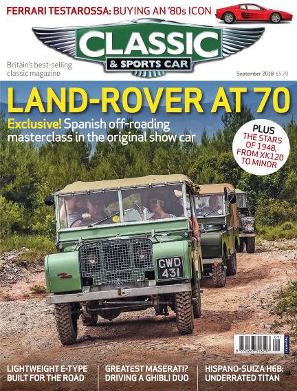 Classic & Sports Car August 02, 2018 00:00