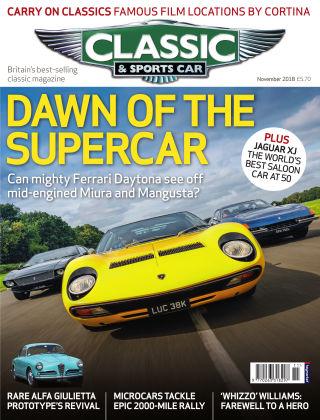 Classic & Sports Car November 2018