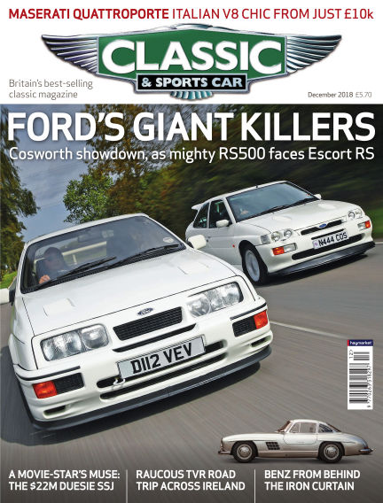 Classic & Sports Car November 01, 2018 00:00