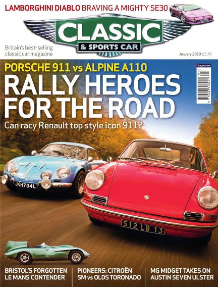 Classic & Sports Car December 06, 2018 00:00