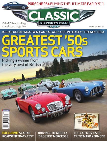Classic & Sports Car February 07, 2019 00:00