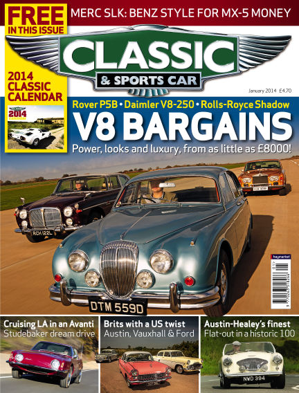 Classic & Sports Car January 02, 2014 00:00