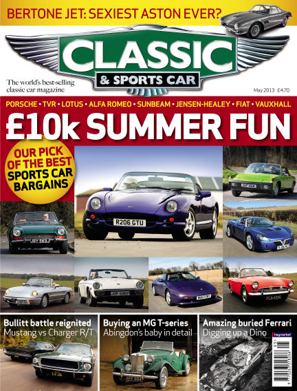 Classic & Sports Car May 02, 2013 00:00