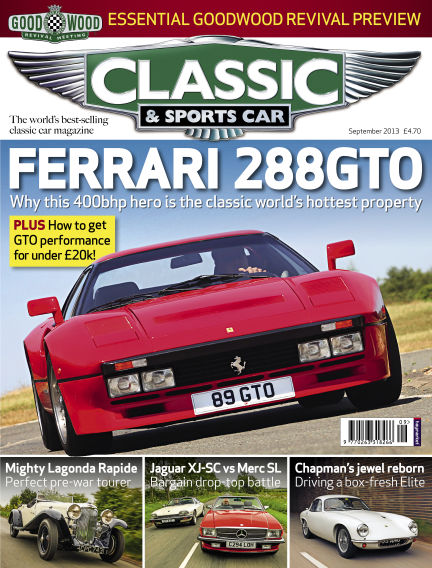 Classic & Sports Car September 05, 2013 00:00