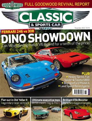 Classic & Sports Car November 2012