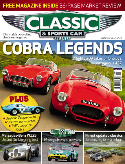 Classic & Sports Car August 23, 2012 00:00