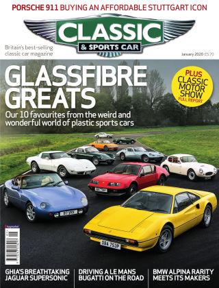 Classic & Sports Car January 2020