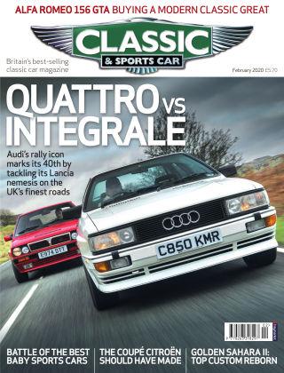 Classic & Sports Car February 2020