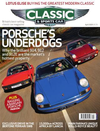 Classic & Sports Car April 2020