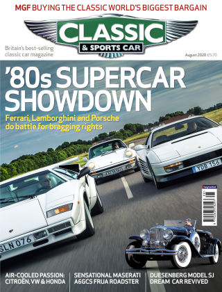 Classic & Sports Car August 2020