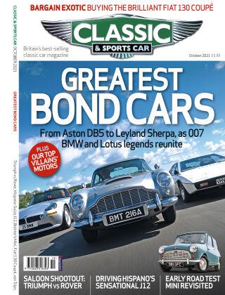 Classic & Sports Car October 2021