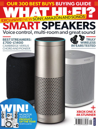 What Hi-Fi? Sound and Vision January 2018