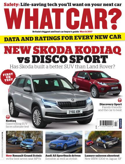 What Car? February 09, 2017 00:00