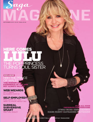 Saga Magazine September 2013