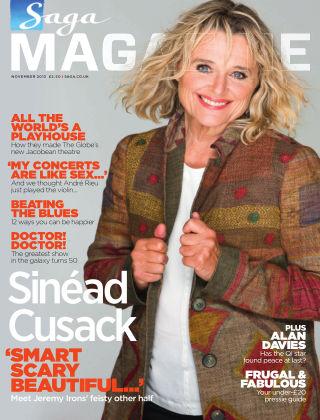 Saga Magazine November 2013