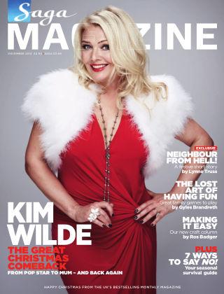 Saga Magazine December 2013
