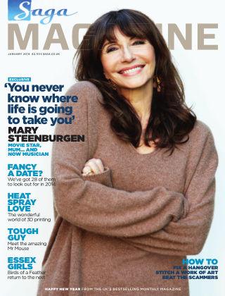 Saga Magazine January 2014