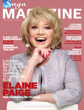 Saga Magazine June 2014