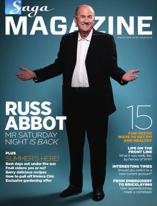 Saga Magazine August 2014