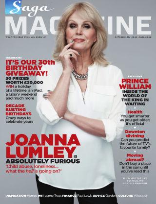 Saga Magazine October 2014