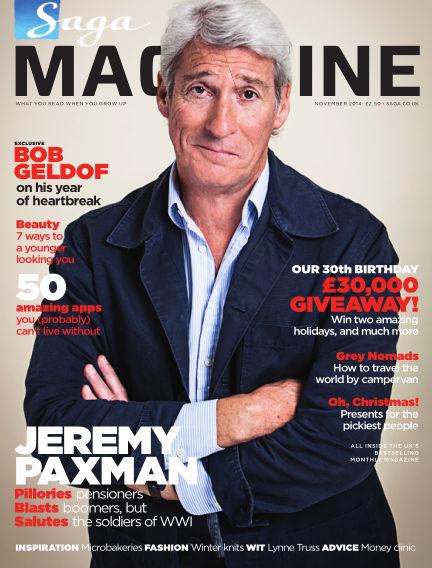 Saga Magazine November 01, 2014 00:00