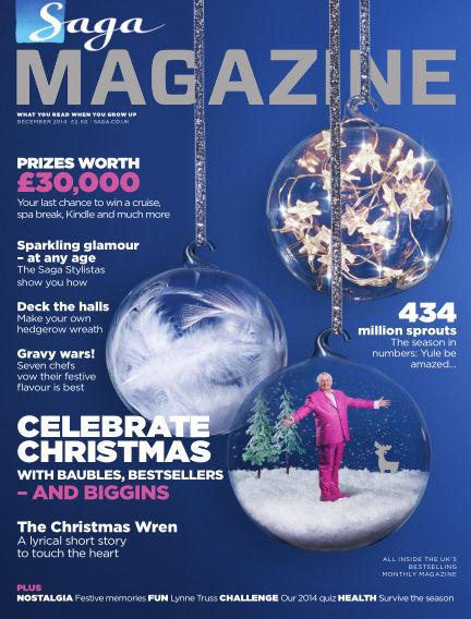 Saga Magazine December 01, 2014 00:00