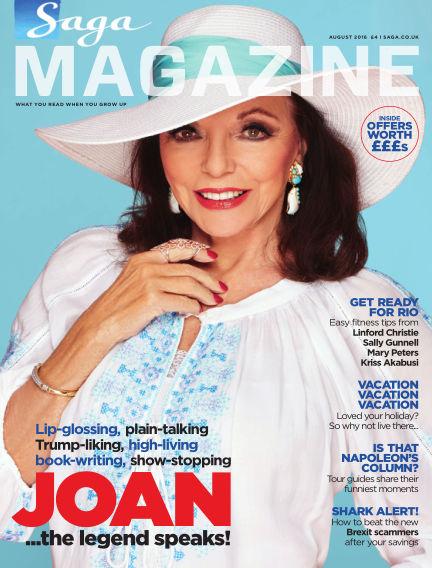 Saga Magazine August 01, 2016 00:00
