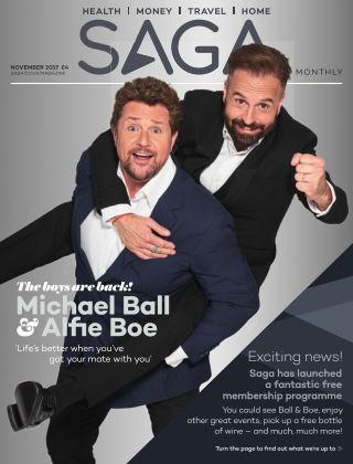 Saga Magazine November 2017