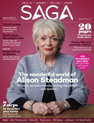 Saga Magazine March 2018