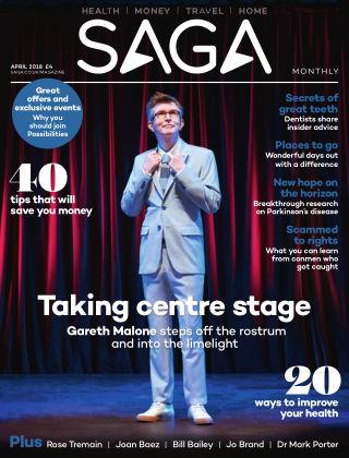 Saga Magazine April 2018