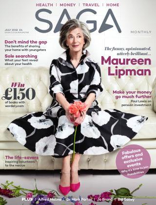 Saga Magazine July 2018