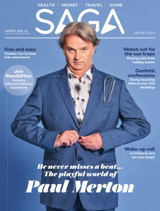 Saga Magazine August 2018