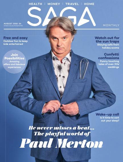 Saga Magazine August 01, 2018 00:00