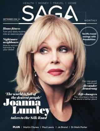 Saga Magazine September 2018