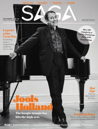 Saga Magazine November 2018
