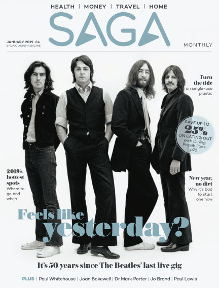 Saga Magazine January 01, 2019 00:00