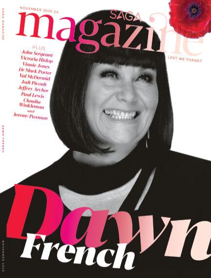 Saga Magazine November 01, 2020 00:00