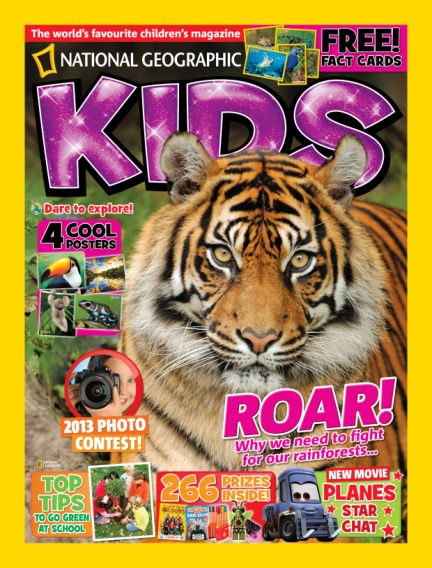 National Geographic Kids - UK August 01, 2013 00:00