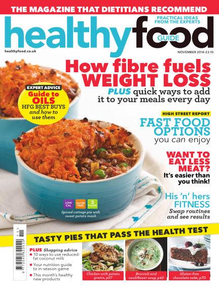Healthy Food Guide November 01, 2014 00:00