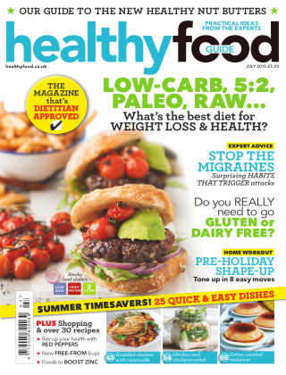 Healthy Food Guide July 2015