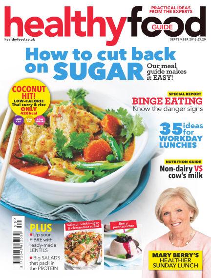 Healthy Food Guide September 01, 2016 00:00