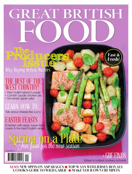 Great British Food April 01, 2013 00:00