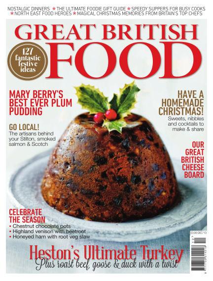 Great British Food December 01, 2013 00:00
