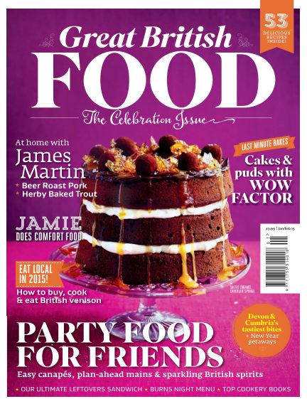 Great British Food December 05, 2014 00:00