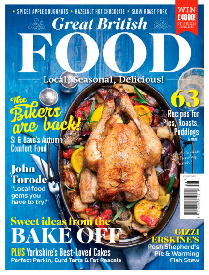 Great British Food September 04, 2015 00:00