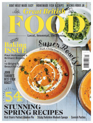 Great British Food March 2016