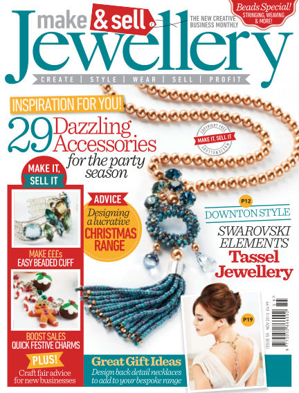 Make & Sell Jewellery November 01, 2013 00:00